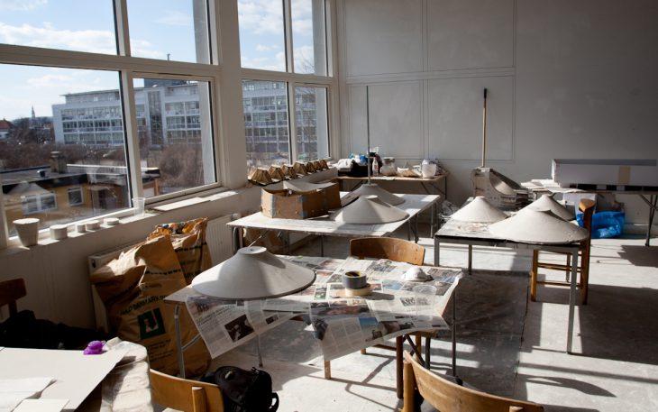 Room of hyperboloids, Royal Danish Academy of Fine Arts.